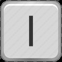 case, key, keyboard, l, letter, lower icon