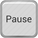function, key, keyboard, pause icon