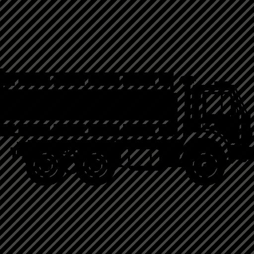 delivery, logistics, machine, transport, transportation, truck, vehicle icon