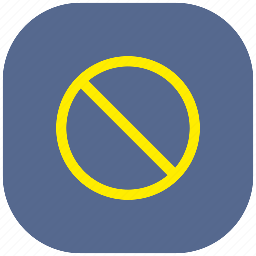 ban, cancel, forbidden, no, sign, stop icon
