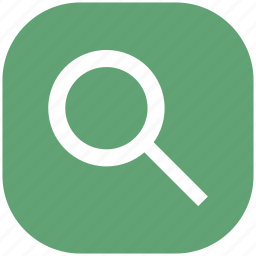 find, lens, magnifier, search, view, zoom icon