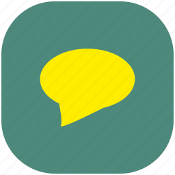chat, email, message, sms, talk, text icon