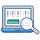 analytics, data analysis, data monitoring, data visualization, online analysis icon