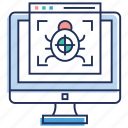 bug file, malware, software bug, virus, web page bug, website bug icon