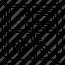 chipset, computer, desktop, modern computer, motherboard, outlined, technology icon