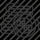 assembling, car, tires, wheel