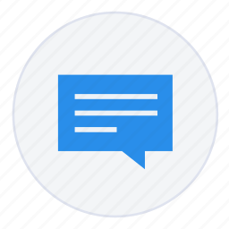 bubble, chat, communication, conversation, help, message, support icon