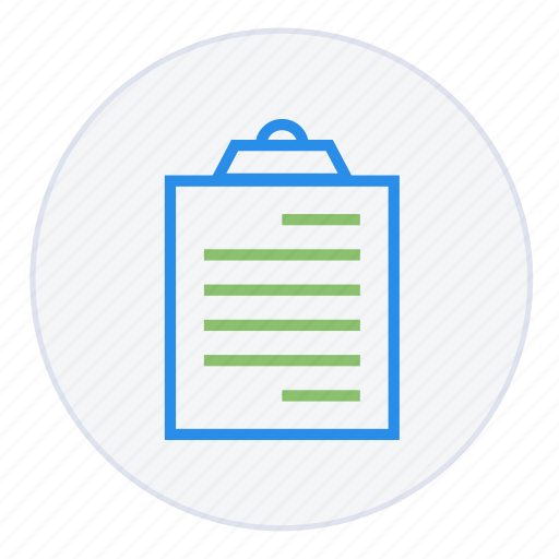 board, business, chart, checklist, clipboard, document, report icon