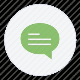chat, comment, communication, conversation, message, messages, support icon