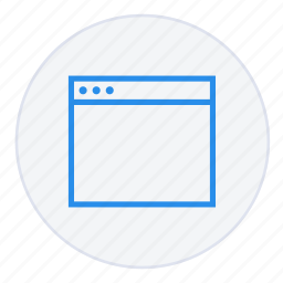 browser, business, desktop, internet, network, online, web icon