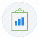 analytics, chart, clipboard, diagram, growth, report, statistics icon