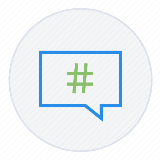 chat, contact, hashtag, mail, message, speech, support icon