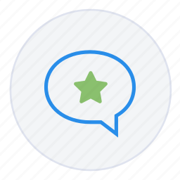 bookmark, chat, comment, contact, favourite, message, star icon