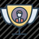 achievement, best, best proposal, motion, proposal, winner icon