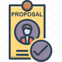 best, best proposal, motion, proposal icon