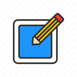 create, edit, pencil, write icon