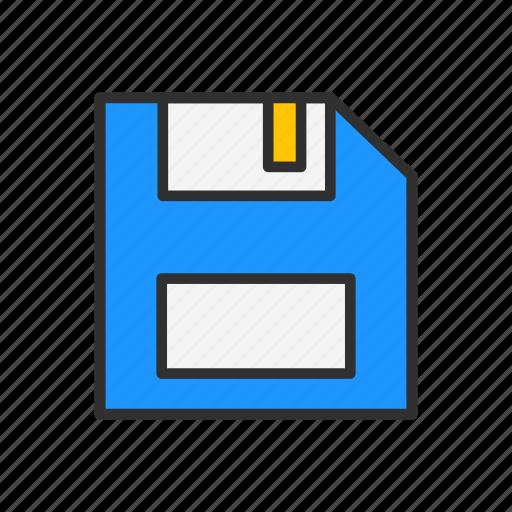 disk, floppy disk, hard disk, save icon