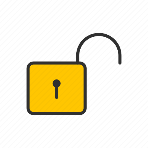 Padlock, security, unlock, unsecure icon - Download on Iconfinder