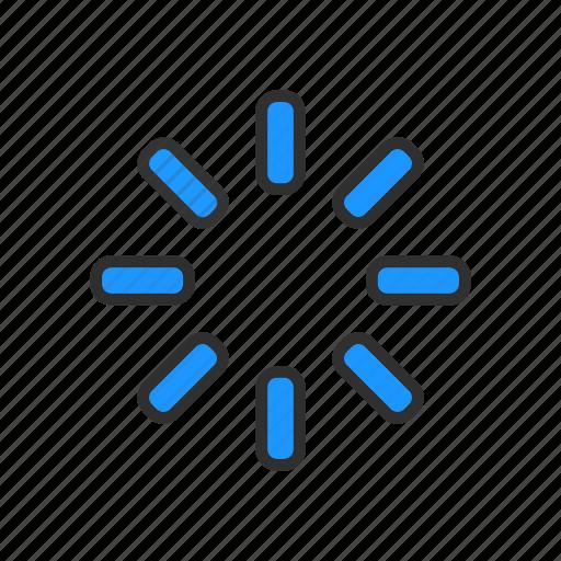 buffer, loading, processing, uploading icon