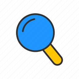 browse, magnify, search, zoom icon