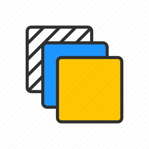 backward, disk, multiple, squares icon