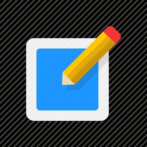 create, pencil, post, write icon