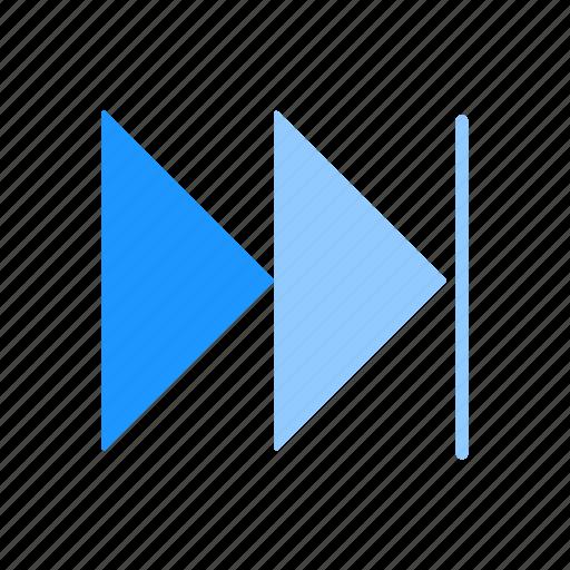 forward, navigate, next, pointer icon
