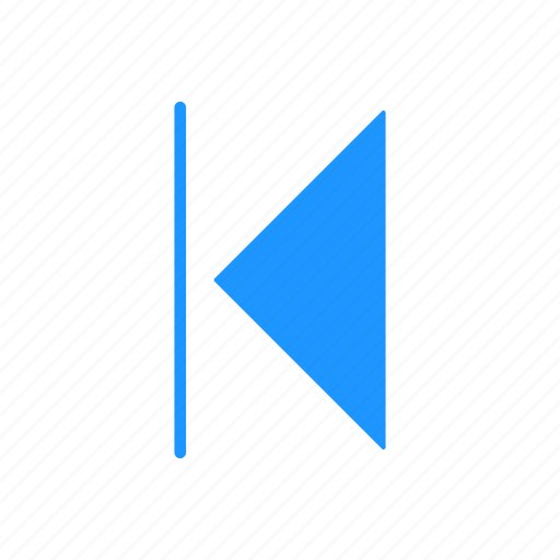 arrow, back, pointer, rewind icon