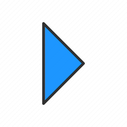 arrow, forward, navigator, next icon