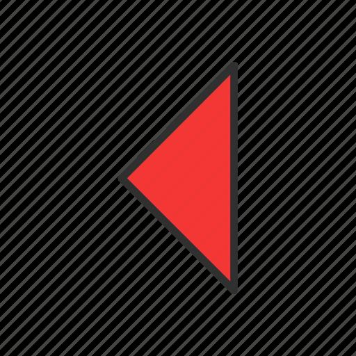 arrow, arrow left, playback, rewind icon