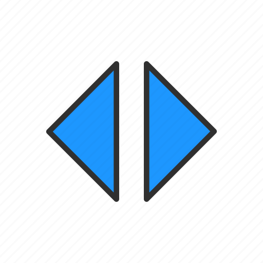 arrow left and right, arrows, navigator, previous and next icon