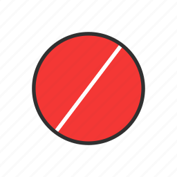 blocked, cancel, circle, delete icon