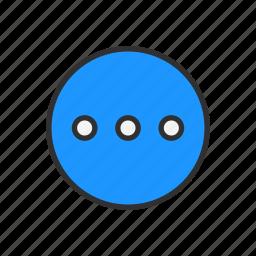 circle, loading, notification, settings icon
