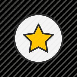 best, favorite, star, top icon