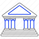 bank, building, business, central, money, property icon