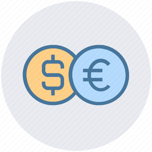 Bank, coin, coins, dollar, euro, finance, money icon - Download on Iconfinder
