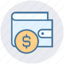 currency, dollar, ecommerce, money, payment, sterling, wallet icon