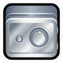 deposit, lock, safe, savings, vault icon