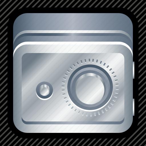deposit, lock, safe, savings, vault icon