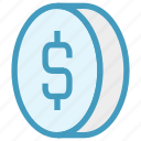 bit coin, business, coin, currency, dollar, finance, money icon