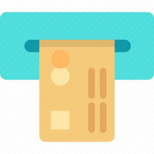 automatic, banking, card, finance, machine, money, withdrawal icon