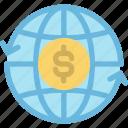 business, dollar, finance, money, online, transfer, world