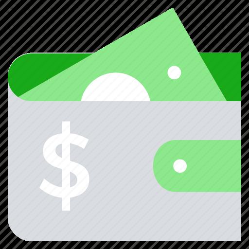 cash, finance, money, money wallet, payment, purse, wallet icon