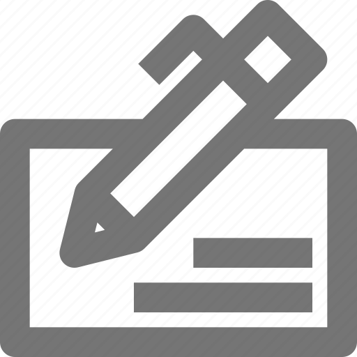 check, cheque, finance, payment, pen, sign, write icon