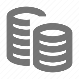 banking, coin, finance, money, payment, saving, stack icon