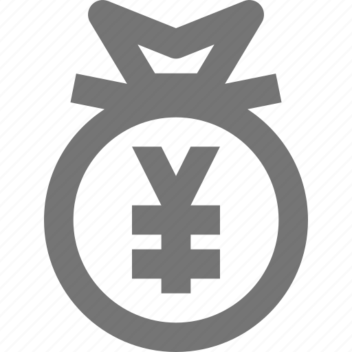 bag, currency, finance, money, payment, savings, yen icon