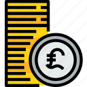 bank, banking, cash, coins, currency icon