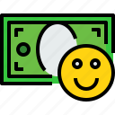 bank, banking, bill, cash, currency, good, money icon