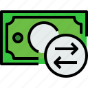 bank, banking, bill, cash, currency, exchange, money icon