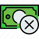 bank, banking, bill, cash, currency, money icon